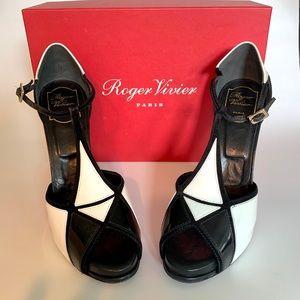 Roger Vivier Prismark 120 heels size 8.5